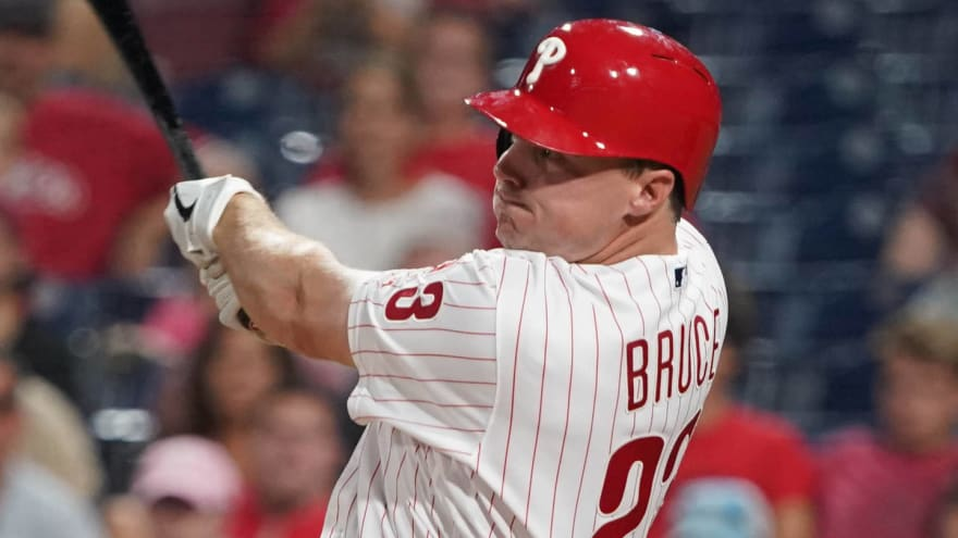 Yankees to sign Jay Bruce to minors deal