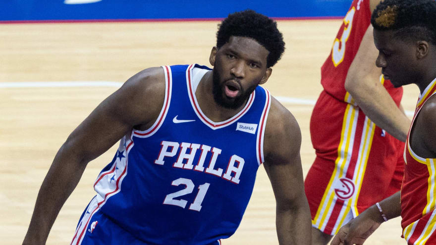 76ers' Joel Embiid fined $35K for altercation with Hawks' John Collins in Game 6