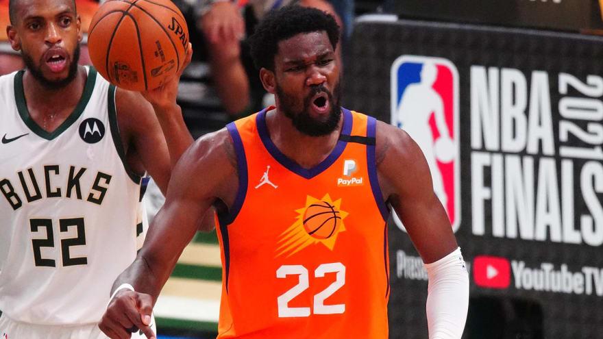 Deandre Ayton on Suns trailing: 'I like it'