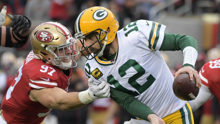 Where's the love? Packers return to familiar pattern of impeding Rodgers