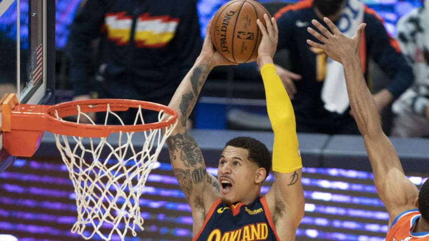 Warriors to convert Juan Toscano-Anderson to standard contract, add Jordan Bell to two-way deal