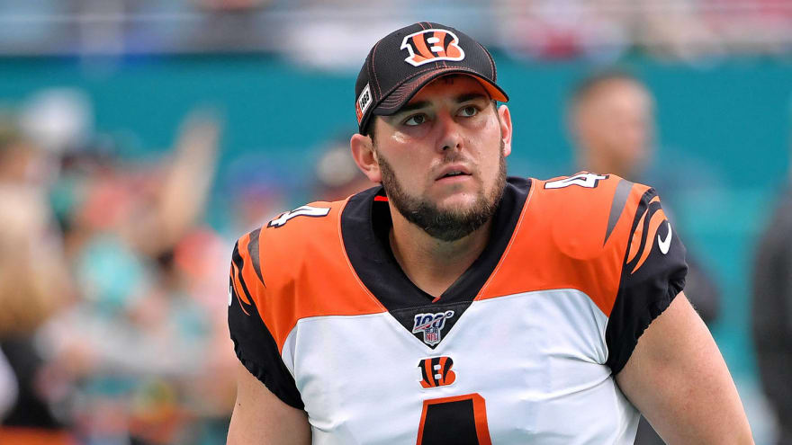 Bengals' Randy Bullock appears to suffer injury missing game-tying ...