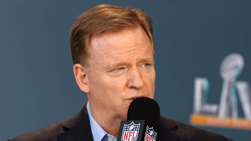 Roger Goodell expects full NFL stadiums for 2021 season