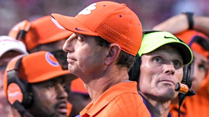 Dabo: 'Long time since we've been in a situation like this'