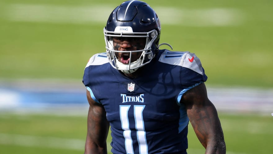 Jones turned down Brown's offer to wear No. 11 with Titans