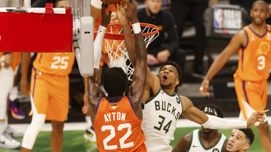 Giannis Antetokounmpo had interesting comment about his amazing block