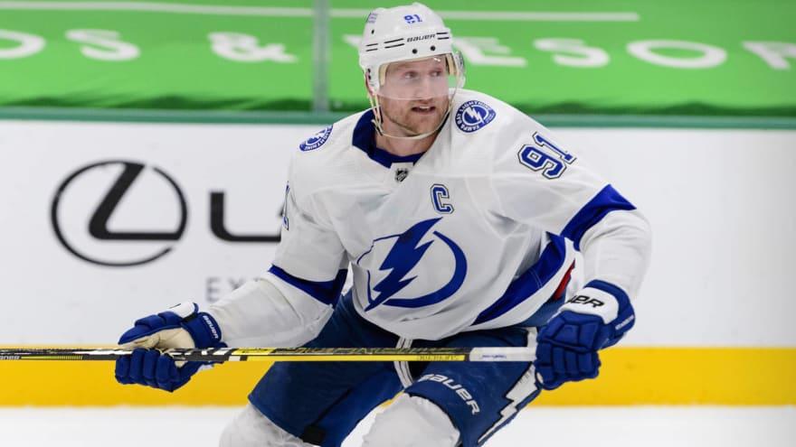 Lightning hope Steven Stamkos can return in 7-10 days