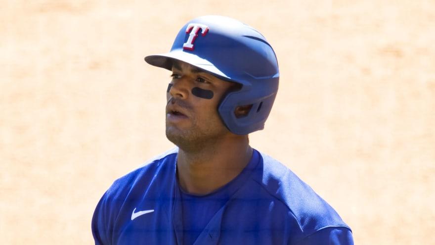 Rangers designate slugger Khris Davis for assignment