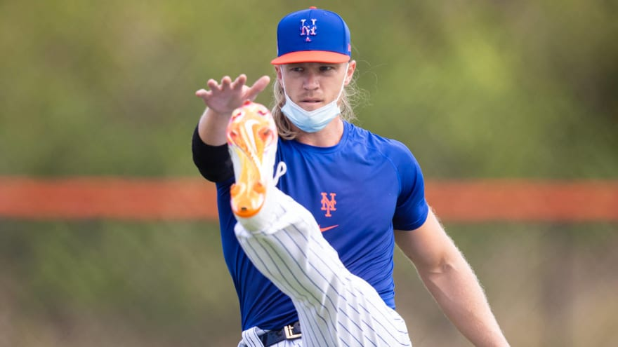 Syndergaard relying on unconventional methods in rehab