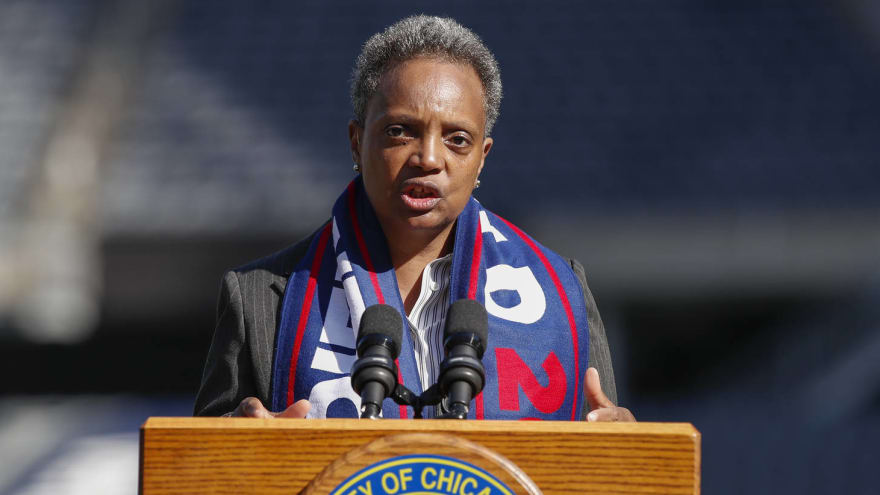 Chicago mayor bashes Bears about potential move to suburb