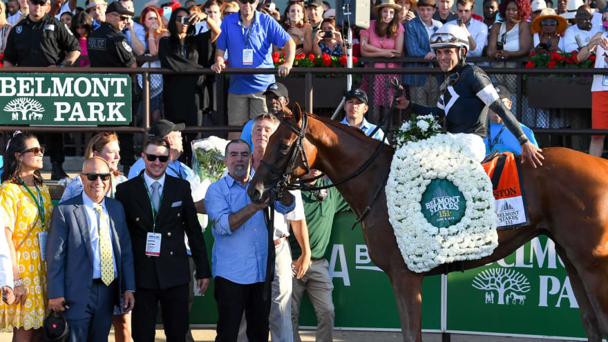 Belmont Stakes moved to June 20 without fans