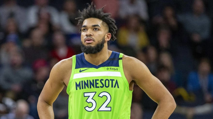 Towns positive for COVID; Grizzlies-Wolves postponed