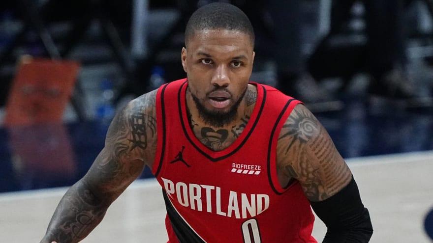 Knicks, 76ers betting favorites to land Lillard if traded