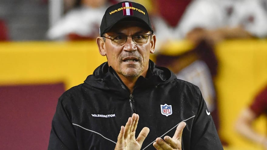 WFT head coach Ron Rivera backs NFL crackdown on taunting