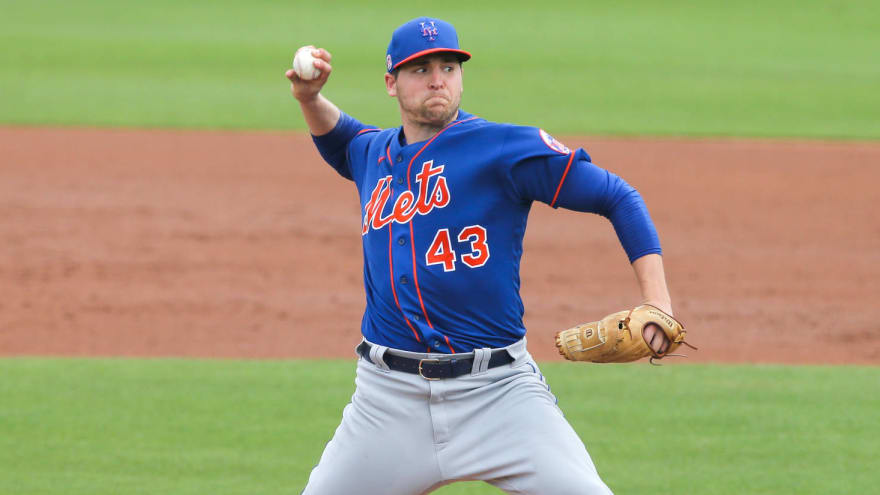 Mets select RHP Jerad Eickhoff, designate outfielder Mason Williams
