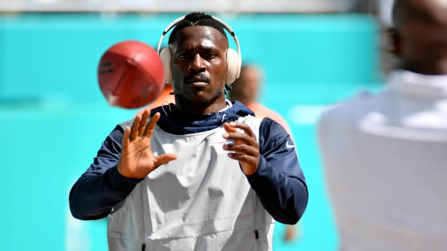 Patriots still have no plans to bring back Antonio Brown