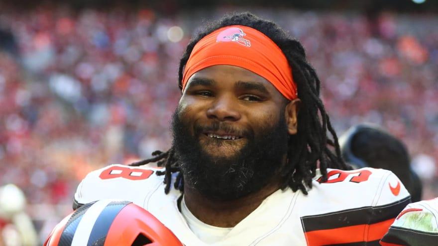 Browns release veteran DT Sheldon Richardson