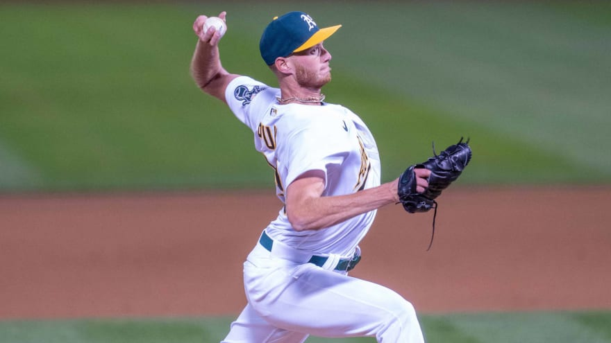 A's place Puk on 10-day IL, move Rosenthal to 60-day IL