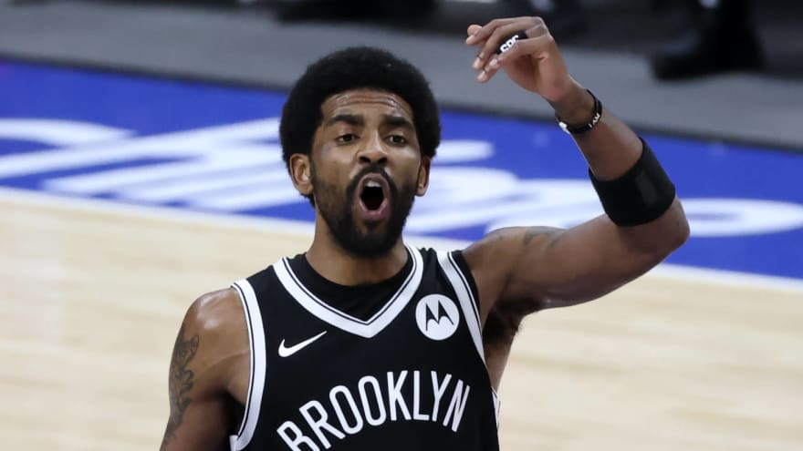 Kyrie joins Nets media day via Zoom due to COVID protocols