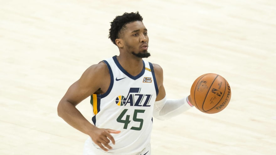 Donovan Mitchell out at least one more week with ankle injury