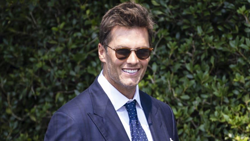Tom Brady teases SiriusXM show with Jim Gray, Larry Fitzgerald