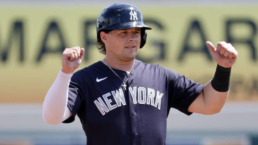 Yankees first baseman Luke Voit nearing return