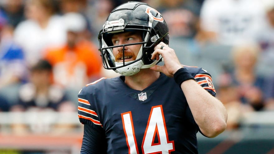 Bears could slow-play Dalton's recovery if Fields plays well?