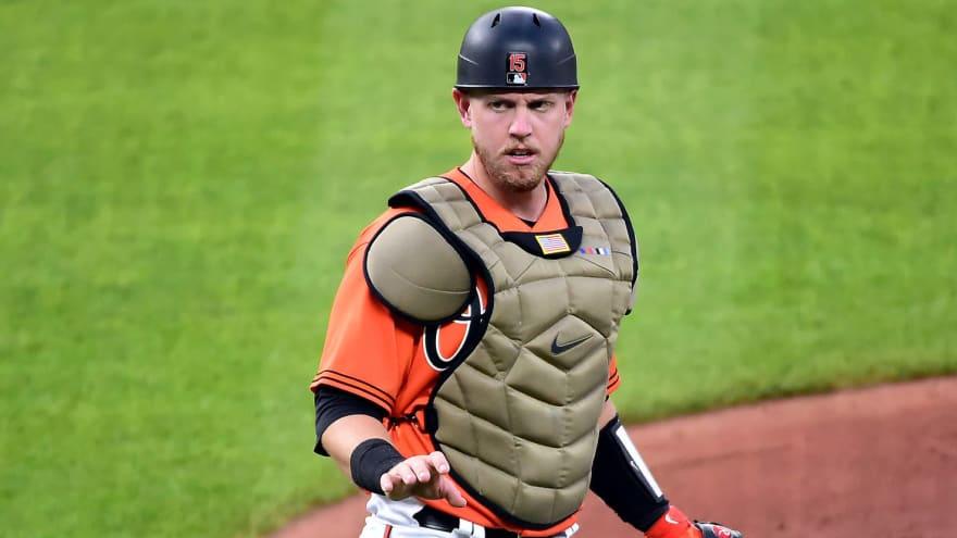 Orioles designate catcher Chance Sisco for assignment   Yardbarker