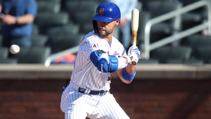 Mets walk off with wild win after HBP in strike zone