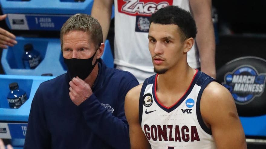 Mark Few had great comment about Jalen Suggs' final shot