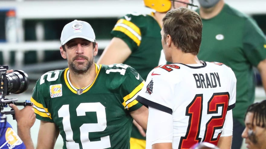 Aaron Rodgers envisioned NFC title showdown with Tom Brady