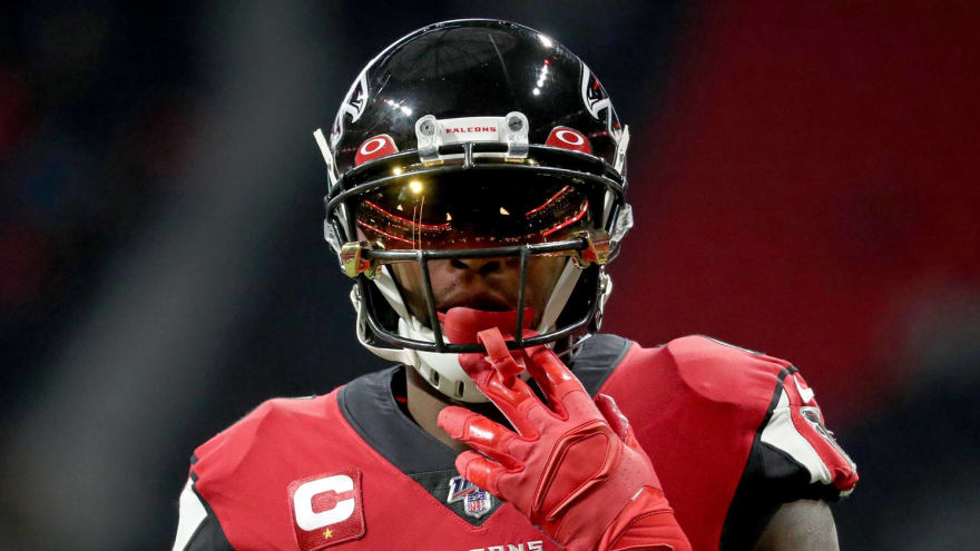 Julio Jones discusses future with Falcons: 'I'm out of there'