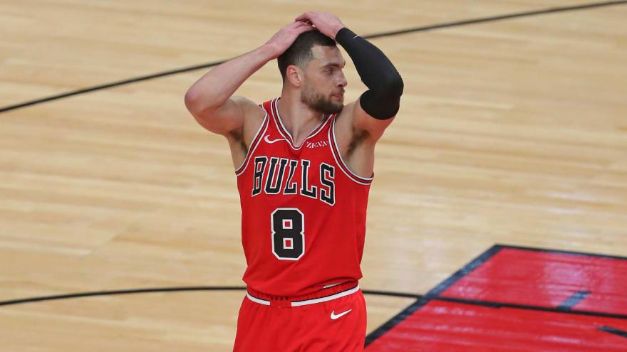 Bulls' Zach LaVine enters COVID protocols