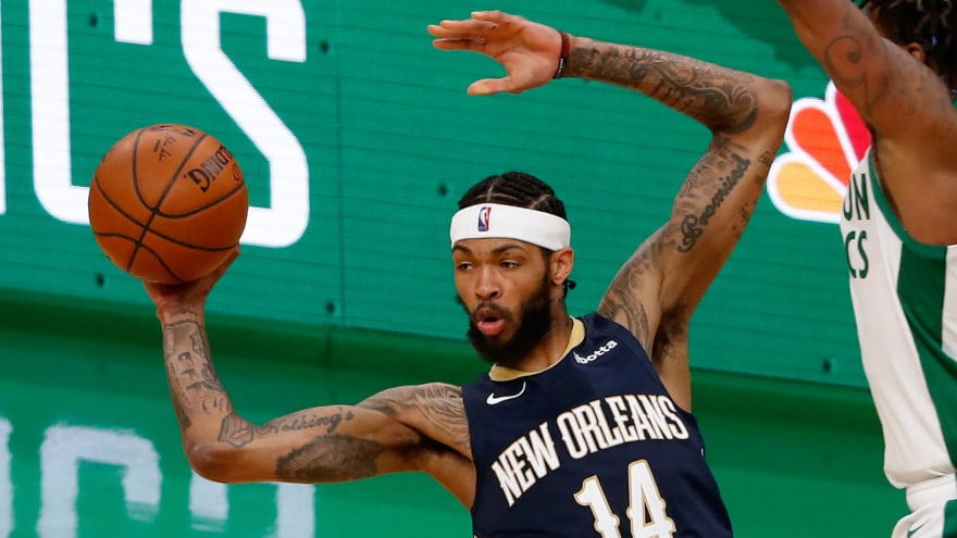 Brandon Ingram out Friday vs. 76ers with ankle sprain