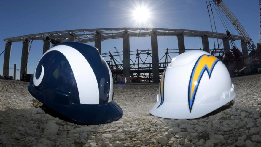 Interior of Rams, Chargers new SoFi Stadium is spectacular