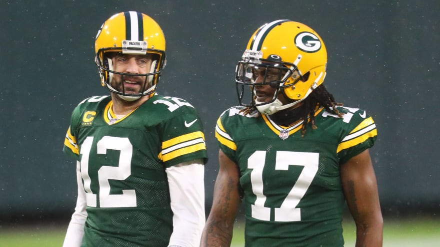 Could Davante Adams follow Aaron Rodgers out of Green Bay?