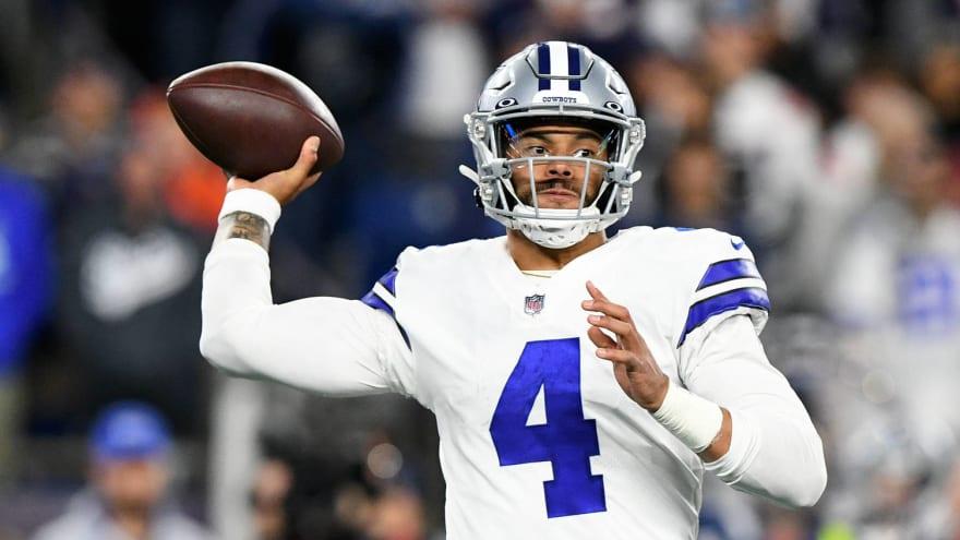Dak Prescott injures calf on Cowboys' game-winning OT play