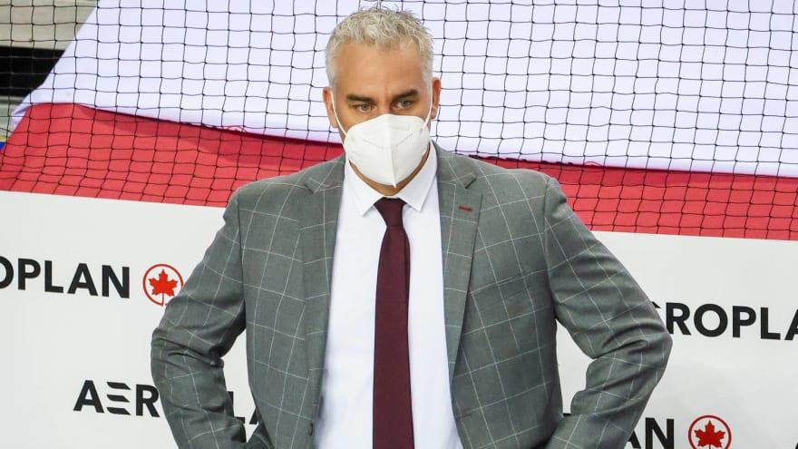 Canadiens HC Dominique Ducharme positive for COVID