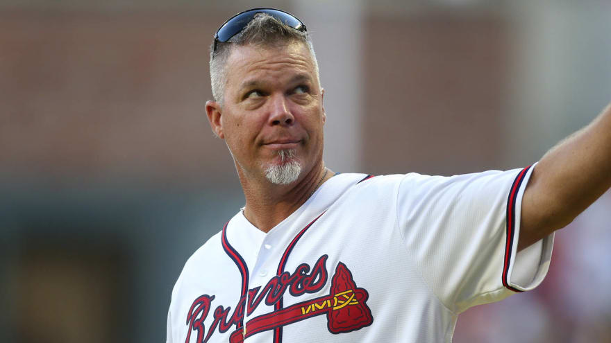 Watch: Chipper Jones drops foul ball at Braves game