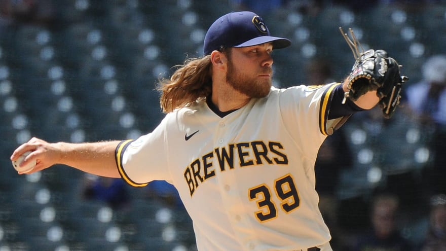 Corbin Burnes' record ends at 58 K's before first walk