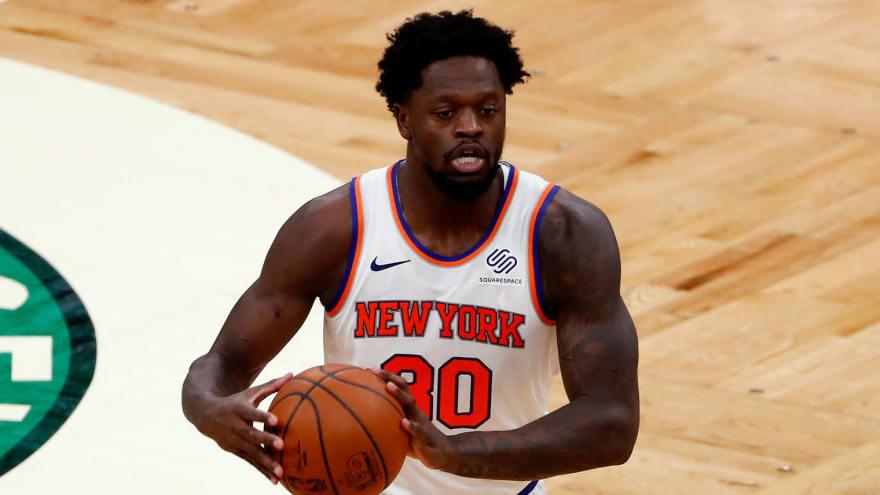 Knicks' Julius Randle gets MVP chants vs. Raptors