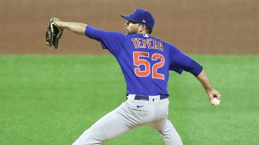 Cubs RP Ryan Tepera suspended three games