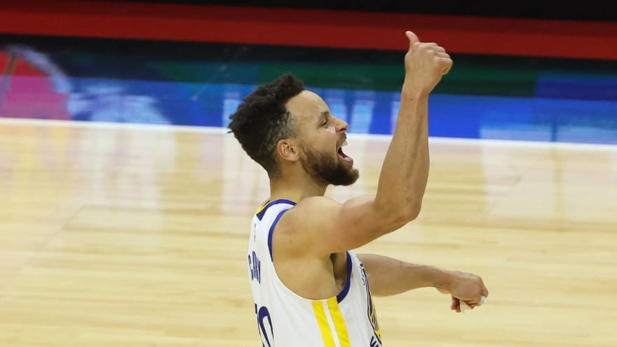 Steph Curry continues ridiculous hot streak for Warriors