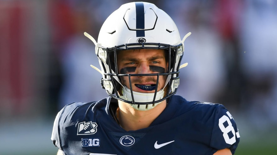 Pittsburgh Steelers draft tight end Pat Freiermuth with No. 55 pick in 2021 NFL Draft