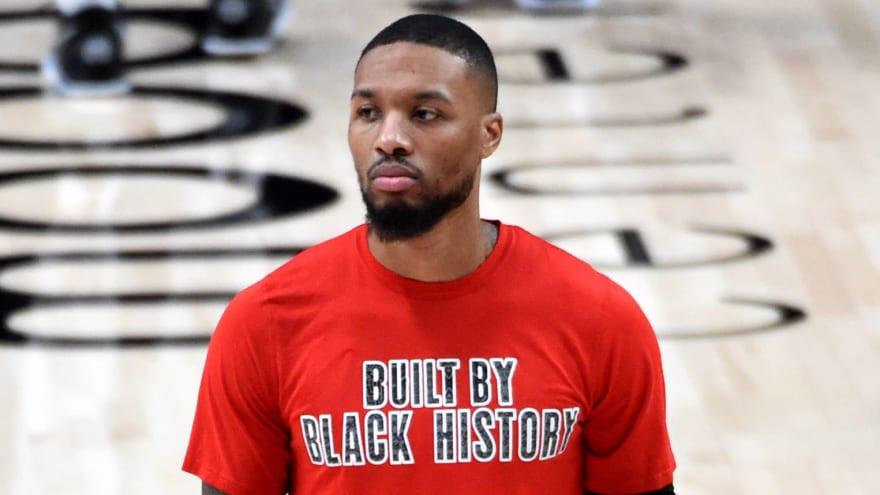 Report: Damian Lillard to compete in three-point contest