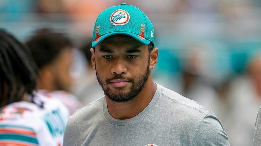 Dolphins' Tagovailoa improving, could play vs. Jags in London