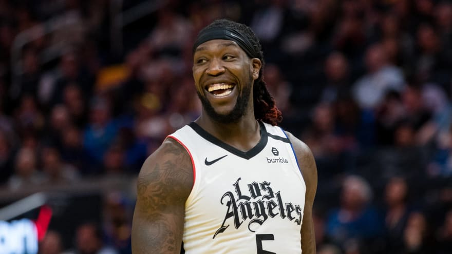 Clippers' Montrezl Harrell reveals he's back in NBA bubble