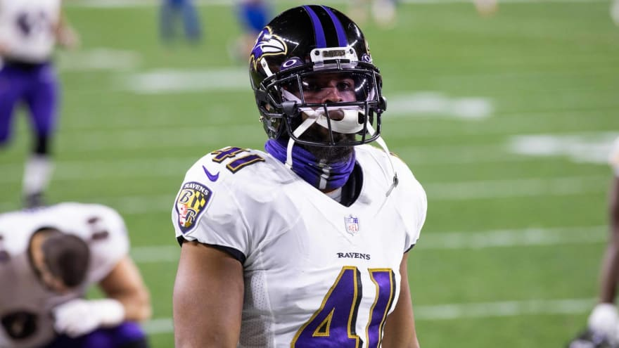 Ravens re-sign Anthony Levine to one-year deal