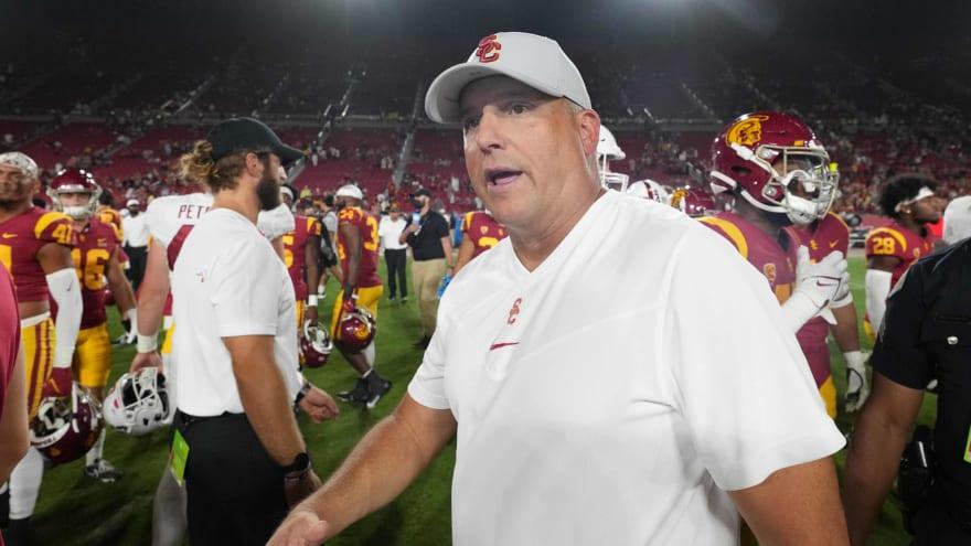 USC Trojans fire head coach Clay Helton