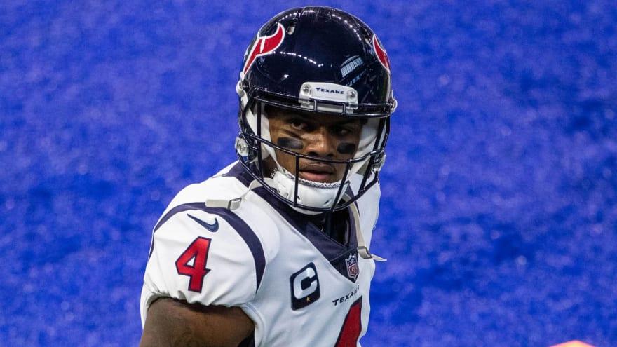 Texans keeping Deshaun Watson away from rest of team?
